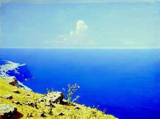 Description of the painting by Arkhip Ivanovich Kuindzhi Sea. Crimea