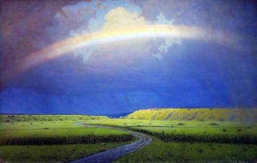 Description of the painting by Arkhip Kuindzhi Rainbow