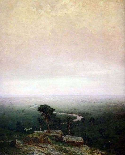 Description of the painting by Arkhip Kuindzhi North