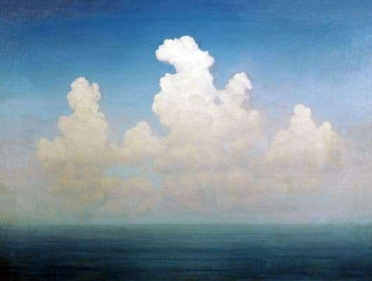 Description of the painting by Arkhip Kuindzhi Cloud