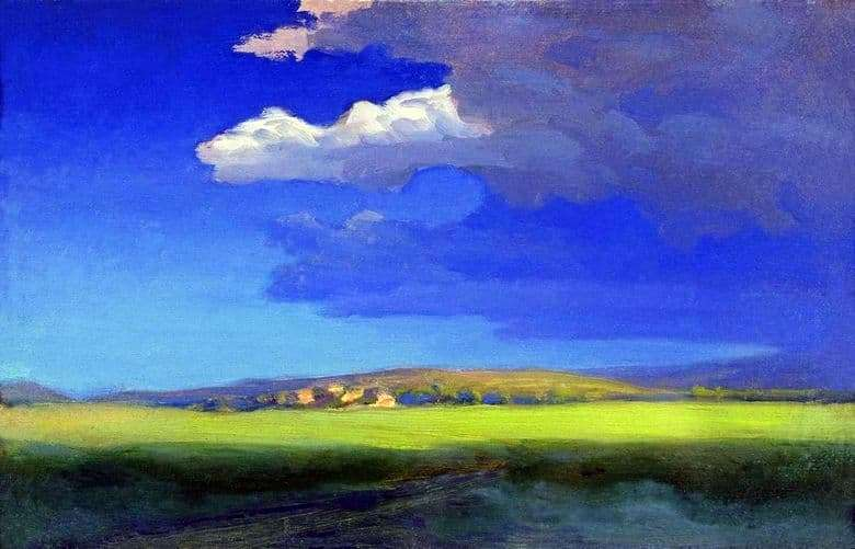 Description of the painting by Arkhip Kuindzhi After a Thunderstorm