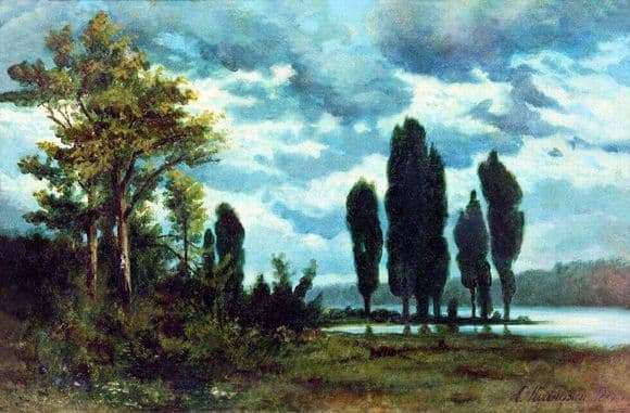 Description of the painting by Arkhip Kuindzhi Landscape