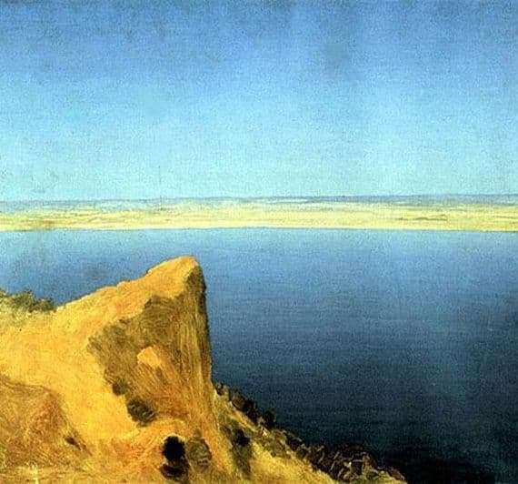 Description of the painting by Arkhip Ivanovich Kuindzhi Volga