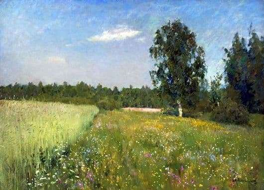 Description of the painting by Isaac Ilyich Levitan June Day