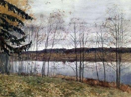 Description of the painting by Isaac Levitan Autumn (October)