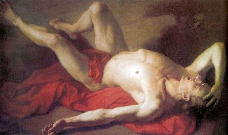 Description of the painting by Anton Losenko Abel