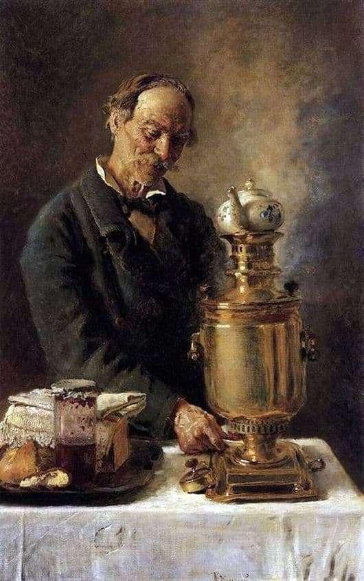 Description of the painting by Konstantin Makovsky Alekseich