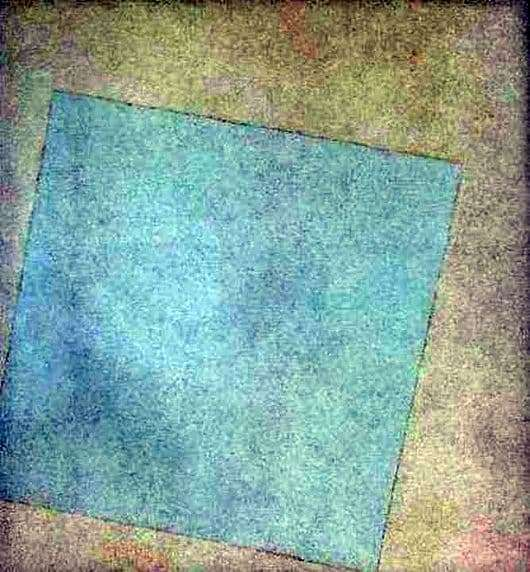 Description of the painting by Kazimir Malevich White on white (White Square)
