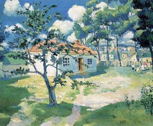 Description of the painting by Kazimir Severinovich Malevich Spring