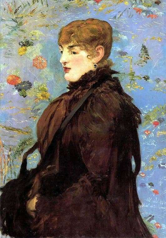 Description of the painting by Edward Manet Autumn