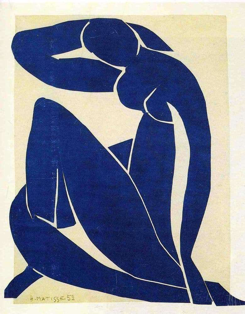 Description of the painting by Henri Matisse Blue Nude