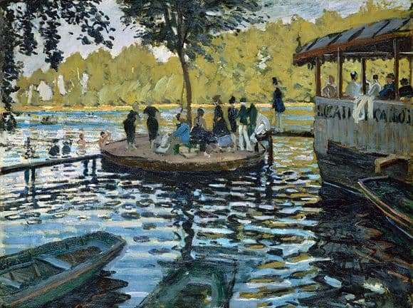 Description of the painting by Claude Monet The Frogdog