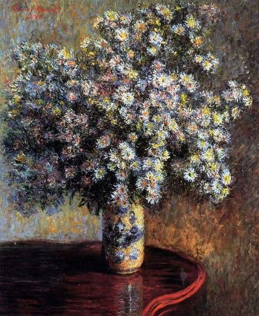 Description of the painting by Claude Monet Astra