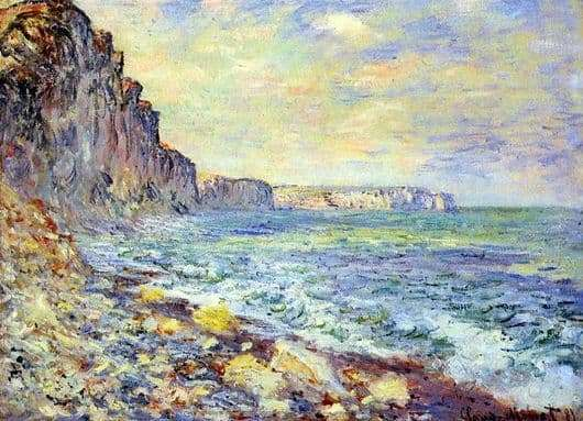 Description of the painting by Claude Monet Sea