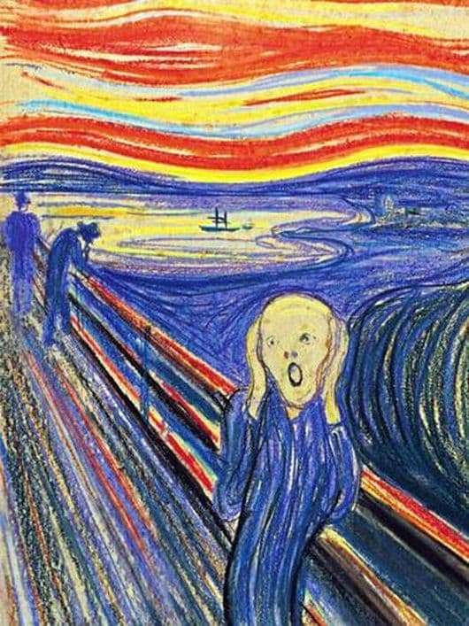 Description of the painting by Edward Munch Scream
