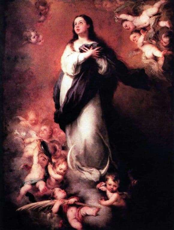 Bartolome Estebano Murillos description of the Immaculate Conception