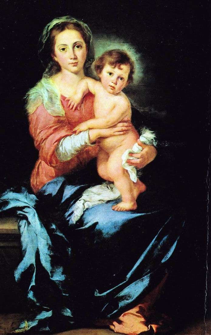 Description of the painting by Bartolomeo Murillo Madonna