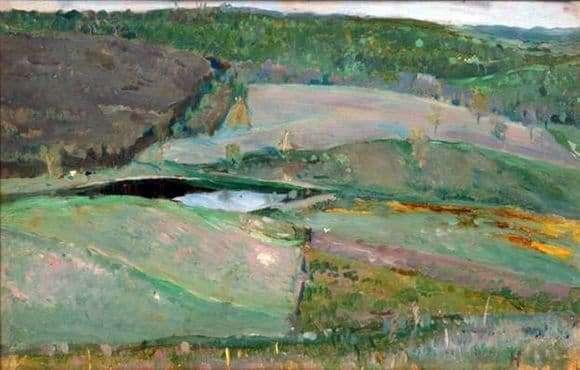 Description of the painting by Mikhail Nesterov Dali