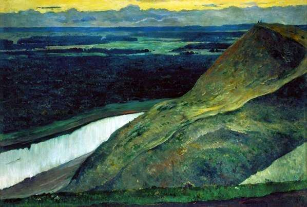 Description of the painting by Mikhail Nesterov Aksakovs Motherland