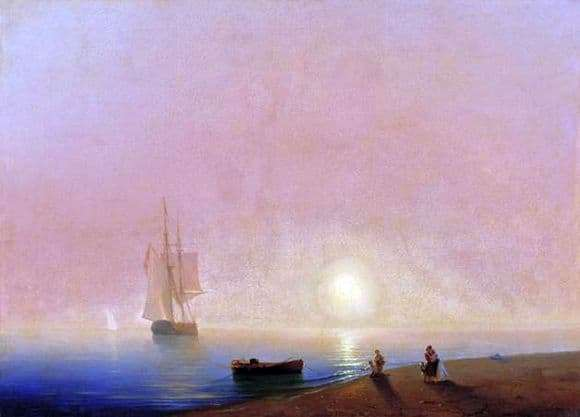 Description of the painting by Ivan Aivazovsky Farewell