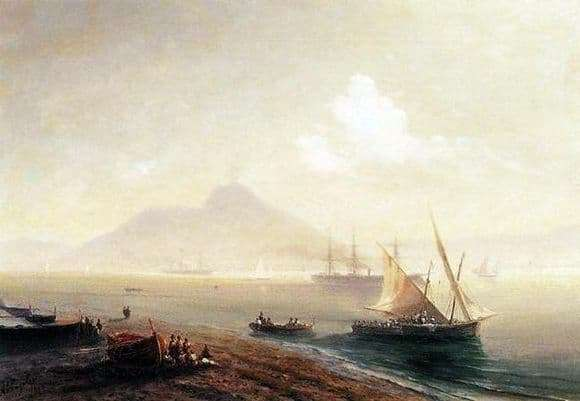 Description of the painting by Ivan Aivazovsky Sea Bay