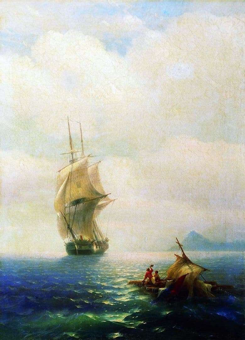 Description of the painting by Ivan Aivazovsky After the Storm