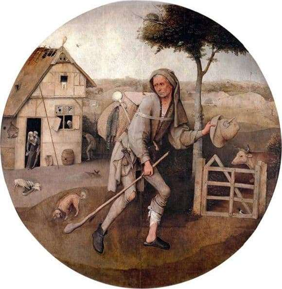 Description of the painting by Hieronymus Bosch Prodigal Son