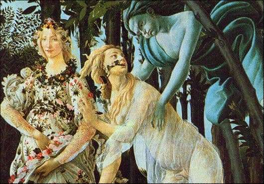 Description of the painting by Sandro Botticelli Flora