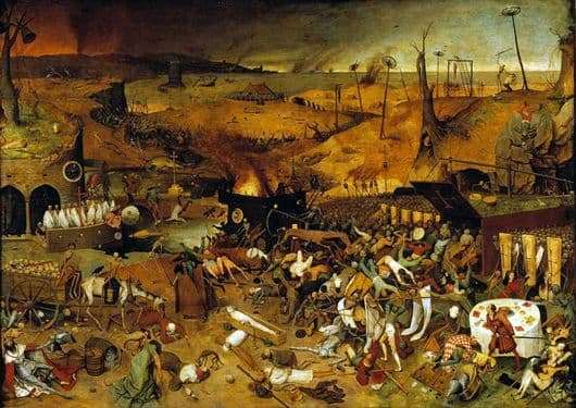 Description of the painting by Peter Bruegel The Triumph of Death