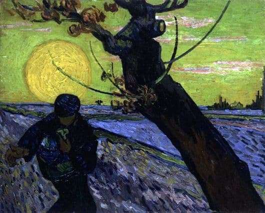 Description of the painting by Vincent van Gogh The Sower