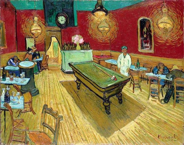 Description of the painting by Vincent van Gogh Night Cafe