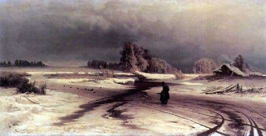 Description of the painting by Fyodor Vasilyev The Thaw