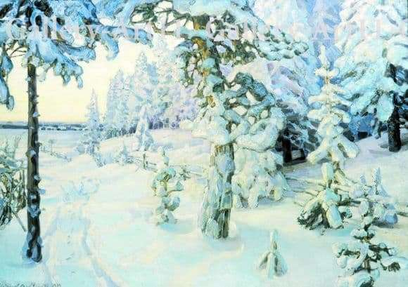 Description of the painting by Apollinaria Vasnetsov Winter Dream (Winter)