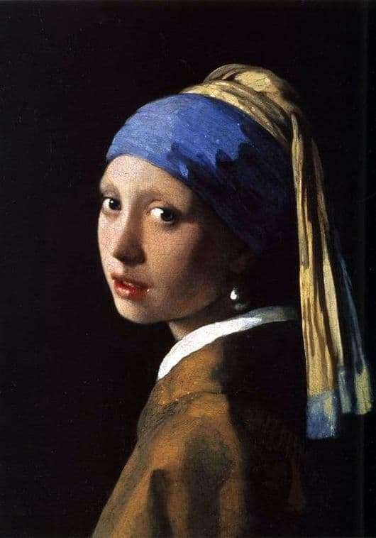 Description of the painting by Jan Vermeer Girl with a pearl earring