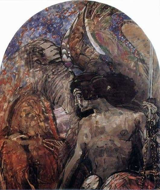 Description of the painting by Mikhail Vrubel The Prophet