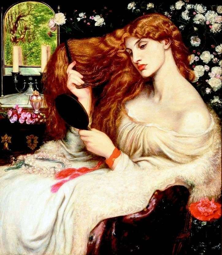 Description of the painting by Dante Rossetti Lady Lilith