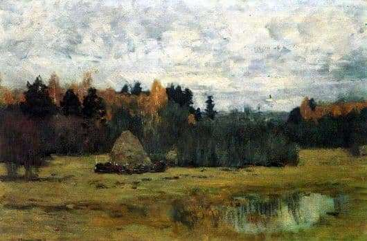 Description of the painting by Isaac Levitan Late autumn