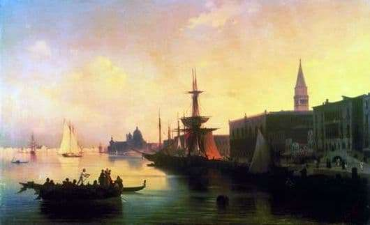 Description of the painting by Ivan Aivazovsky Venice
