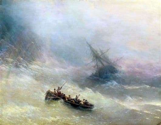 Description of the painting by Ivan Aivazovsky Rainbow