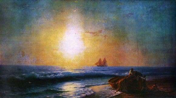 Description of the painting by Ivan Aivazovsky Sunrise