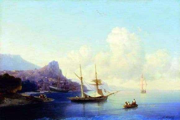 Description of the painting by Ivan Aivazovsky Gurzuf