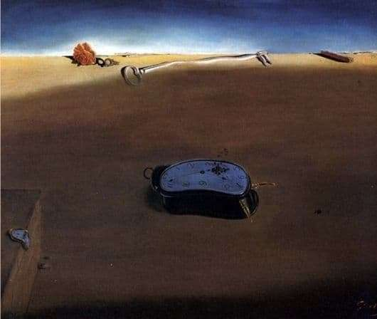 Description of the painting by Salvador Dali Soft Watch