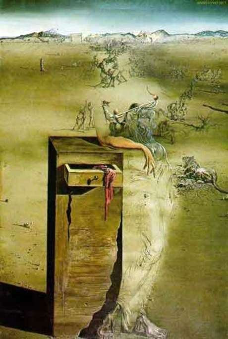 Description of the painting by Salvador Dali Spain