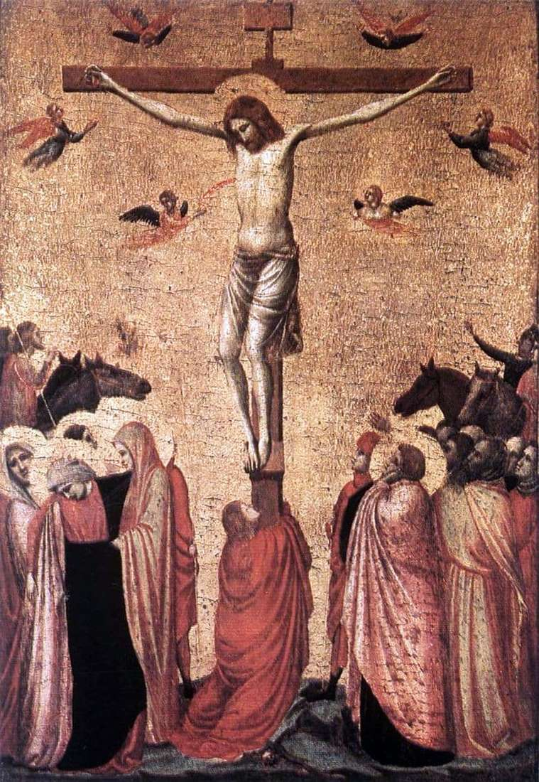 Description of the painting by Giotto di Bondone Crucifixion of Christ