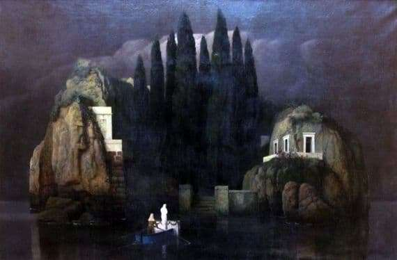 Description of the painting by Arnold Beklin The Island of the Dead