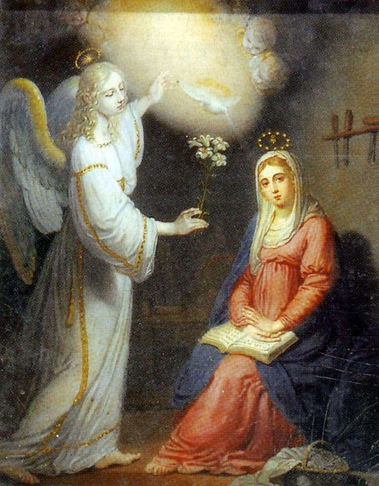 Description of the painting by Vladimir Borovikovsky Annunciation