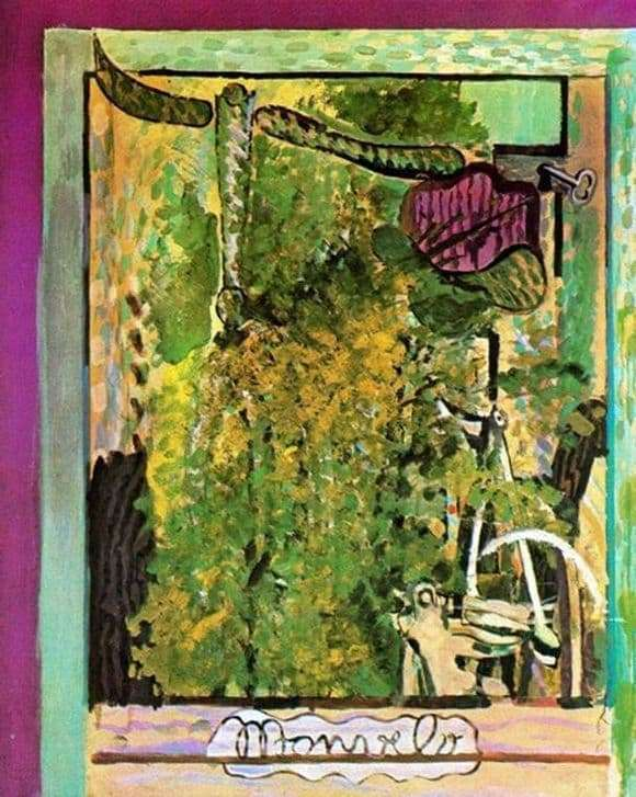 Description of the painting by Georges Braque My bike