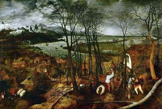 Description of the painting by Peter Bruegel The Dark Day