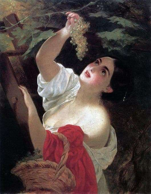 Description of the painting by Karl Bryullov Italian Midday