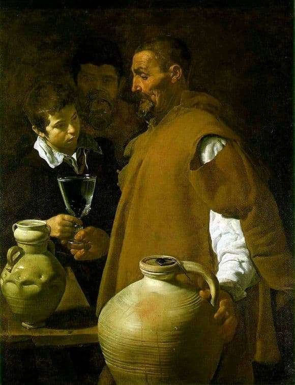 Description of the painting by Diego Velazquez Waterman